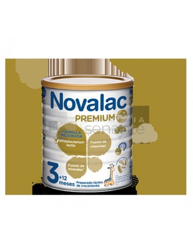 NOVALAC PREMIUM PLUS 3 PREPARADO LACTEO 800 G