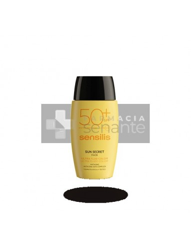 SENSILIS SUN SECRET ULTRA SPF 50+ FLUIDO FACIAL CON COLOR 40 ML
