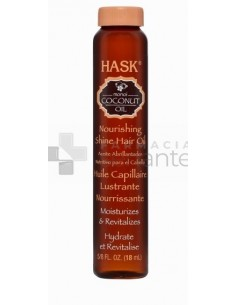 HASK COCONUT OIL NOURISHING SHINE OIL 18ML