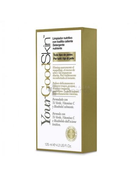 YOURGOODSKIN LIMPIADOR NUTRITIVO CON TOALLITA CA 125 ML1