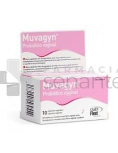 MUVAGYN PROBIOT VAGINAL10 CAPSULAS