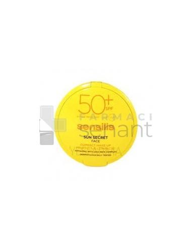 SUN SECRET MAQUILLAJE COMPACTO 50+ GOLDEN