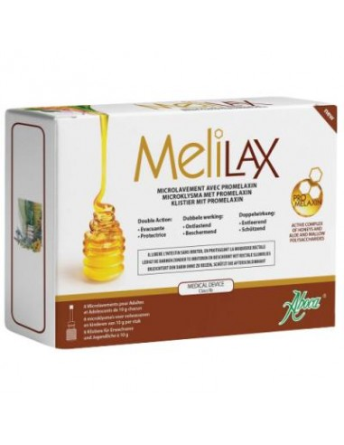MELILAX 6 ENEMAS