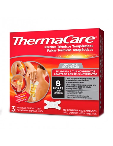 THERMACARE ADAPTABLE 3PARCHE