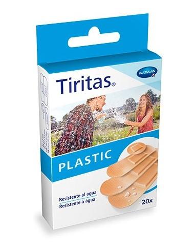 TIRITAS PLASTICO 4 TAMAÑOS SURT
