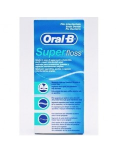 SUPER FLOSS 50 UNI ORAL B