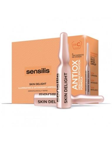 SENSILIS SKIN DELIGHT VITAMINA C AMPOLLAS 15 AMPOLLAS X 1,5 ML