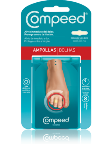COMPEED AMPOLLAS DEDOS-PIES