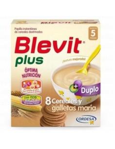 BLEVIT PLUS 8 CEREALES +GALLETAS 600 GRAMOS