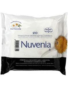 TOALLITAS NUVENIA DESMAQUILLANTES 20 UNIDADES
