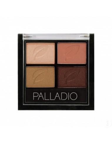 PALLADIO PALETA DE SOMBRAS QUAD 06 COOPER N CHIC