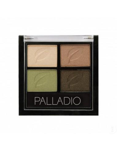 PALLADIO PALETA DE SOMBRAS QUAD GREEN TO GO