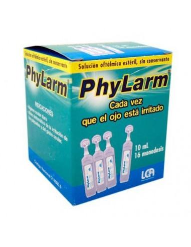 PHYLARM SOLUCION OFTALMICA ESTERIL 16 UNIDADES