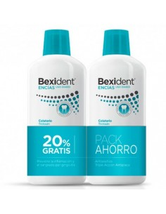 DUO BEXIDENT ENCIAS COLUTORIO TRICLOSAN 500ML