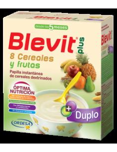 BLEVIT PLUS DUPLO 8 CEREALES + FRUTA 700 GRAMOS