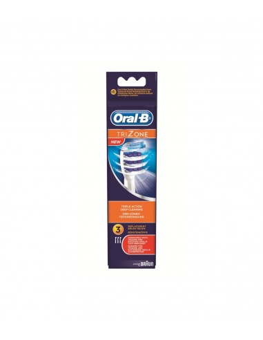 CEPILLO DENTAL ELECTRICO RECARGABLE RECAMBIO ORAL-B DRUMBRUSH EB 30-3 3 UDS