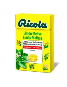 RICOLA CARAMELOS SIN AZUCAR LIMON 50 GR