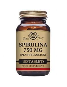 ESPIRULINA 100% 750MG SOLGAR