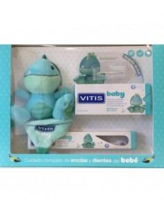VITIS BABY PACK CEPILLO DENTAL + GEL CALMANTE 30 ML + GADGET + DEDAL