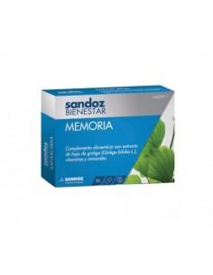 SANDOZ BIENESTAR MEMORIA 30C