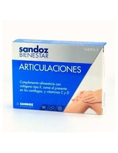 SANDOZ BIENESTAR ARTICULACIONES 30 CAPS