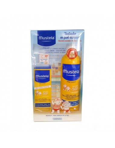 MUSTELA BEBE MUY ALTA PROTECCION SPRAY SOLAR50+ 300 ML