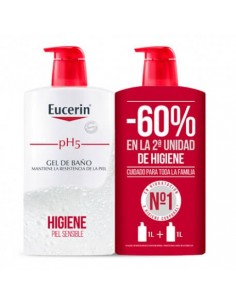 EUCERIN PH5 DUPLO GEL BAÑO 1000 ML