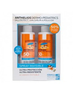 ROCHE POSAY ANTHELIOS PACK INFANTIL SPRAY INVISIBLE 2 U