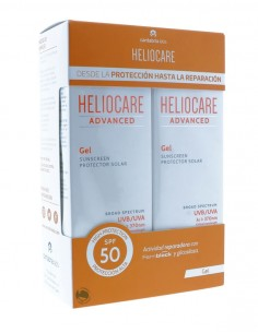 HELIOCARE ADVANCED DUPLO GEL SPF 50 200 ML