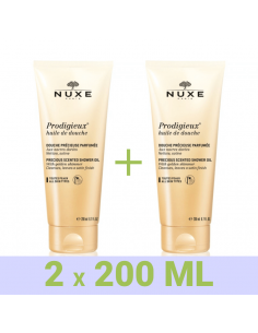 NUXE HUILE DUCHA PRODIGIEUX 2X200 ML