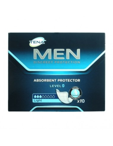 TENA MEN LEVEL 0 PROTECTOR ABSORBENTE 10 UNIDADES
