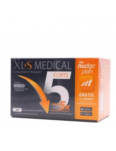 XLS MEDICAL FORTE 5 NUDGE 180 CAPSULAS