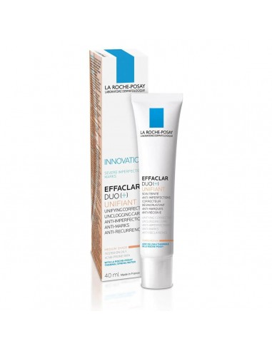 LA ROCHE POSAY EFFACLAR DUO+ UNIFIANT COLOR MEDIO 40ML