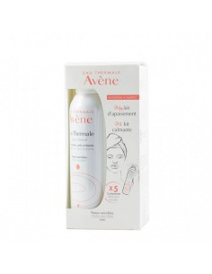 AVENE KIT CALMANTE AGUA TERMAL 150ML Y 5 MASCARILLAS