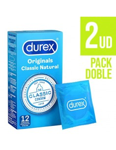 DUREX NATURAL THE CLASSIC 12 PRESERVATIVOS