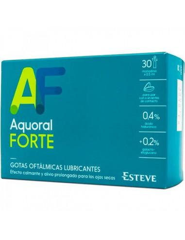AQUORAL FORTE MONODOSIS GOTAS OFTALMICAS LUBRICANTES OJOS SECOS 30X0.5ML