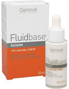 FLUIDBASE REDERM 15% AHA GEL FORTE 30 ML