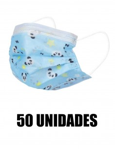 MASCARILLA QUIRURGICA INFANTIL AZUL DIBUJOS 50 UNIDADES_2