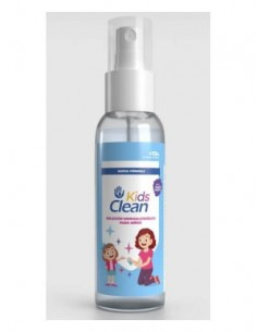 KIDSCLEAN SPRAY HIDROALCOHOLICO OLOR MORA 100ML