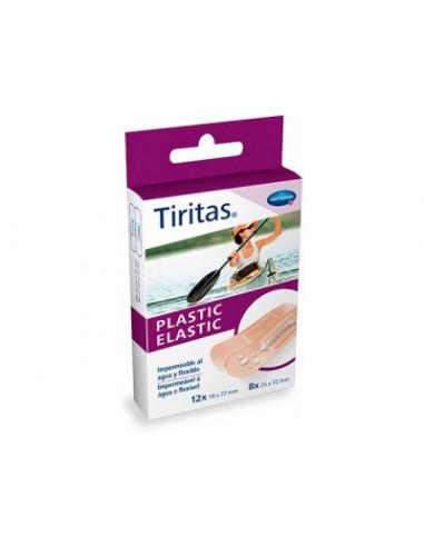 HARTMANN TIRITAS PLASTIC ELASTIC 2 TAMAÑOS 20 UNIDADES
