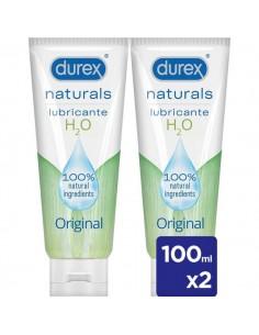 DUREX NATURALS INTIMATE GEL PACK DOBLE 100 ML