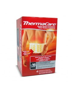 THERMACARE ZONA LUMBAR Y CADERA 4 PARCHES TERMICOS