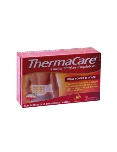THERMACARE ZONA LUMBAR Y CADERA 2 PARCHES TERMICOS