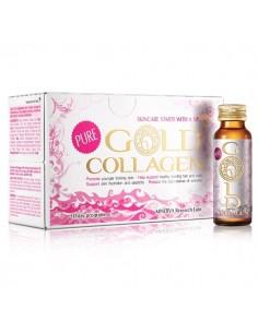GOLD COLLAGEN PURE 10 FRASCOS MONODOSIS 50ML