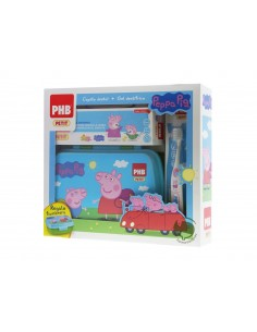 PHB PETIT PACK PEPPA PIG CEPILLO DENTAL + GEL + FIAMBRERA