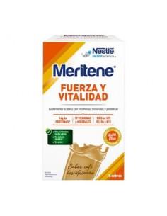 MERITENE FUERZA Y VITALIDAD CAFE DESCAFEINADO 15 SOBRES