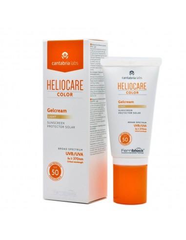 HELIOCARE COLOR GELCREAM LIGHT SPF50