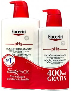 EUCERIN PH5 LOCION HIDRATANTE 1L+400ML
