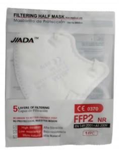 MASCARILLA FFP2 INFANTIL BLANCA 25 UNIDADES JADA