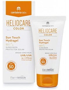 HELIOCARE COLOR SUN TOUCH HYDRAGEL PROTECTOR SOLAR SPF50 50 ML